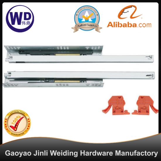SL-2105 Ball Bearing Self Closing Dtc Drawer Slides Cabinet Hardware