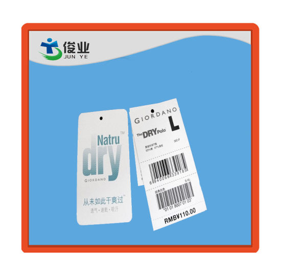 Hot-Selling Customized Cheap Paper Garment Hang Tag