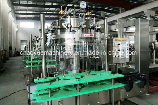 3 in 1 Monoblock Carbonated Drink Filler Manufactur Line pictures & photos