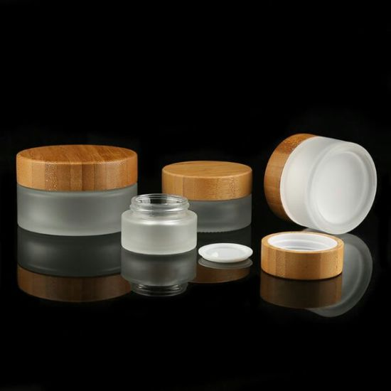 Hot Sale Bamboo Wooden Jar for Cosmetic Packaging pictures & photos