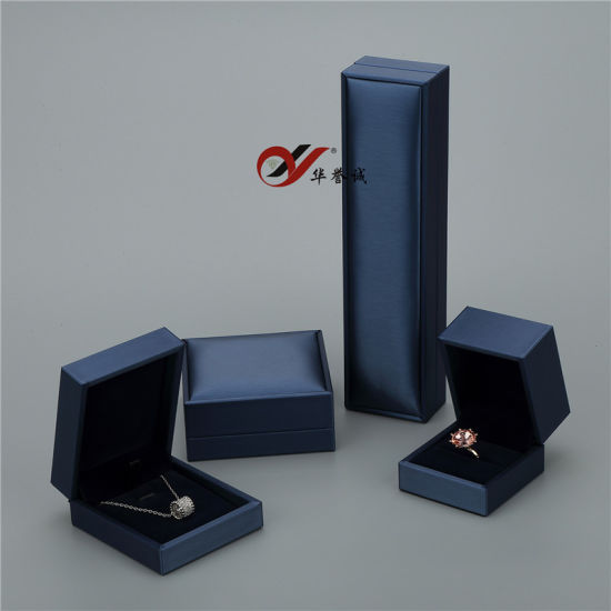 100% Direct Manufacturer PU Leather Jewelry Box Set pictures & photos