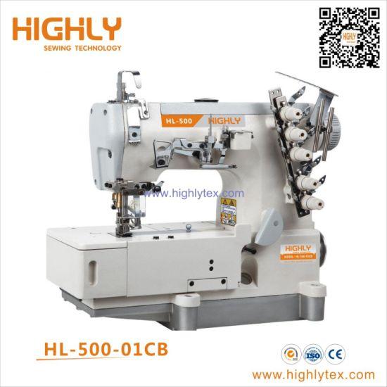 China Pegasus Type High Speed Flat Bed Interlock Stretch Sewing Machine China Multi Needle Sewing Machine Rolled Edge Sewing Machine