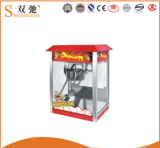 Sc-P02 Ce Commercial Luxury Popcorn Machine for Sale pictures & photos