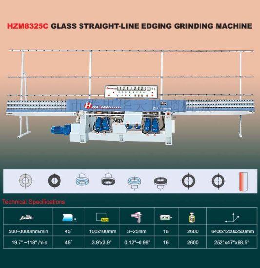 Cast Iron Glass Straight Line Edging / Edger Machine (HZM8325C) K156
