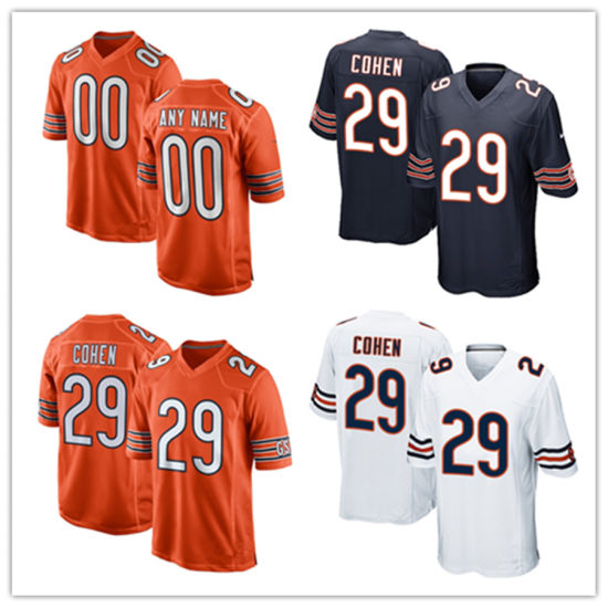 separation shoes ea961 4e4fb Men Women Youth Bears Jerseys 29 Tarik Cohen Football Jerseys