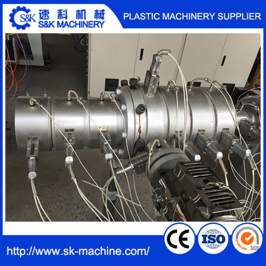Single Screw Extrusion Machine for PE/PP/PPR Pipe/Tube pictures & photos