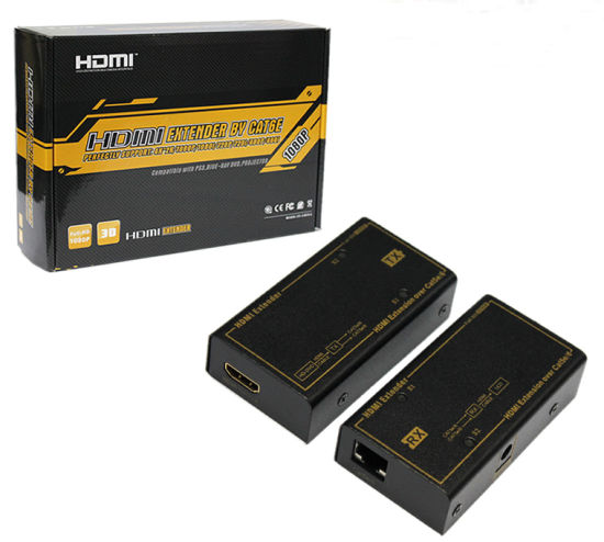 Over Single Cat5e/6 60m HDMI Extender pictures & photos