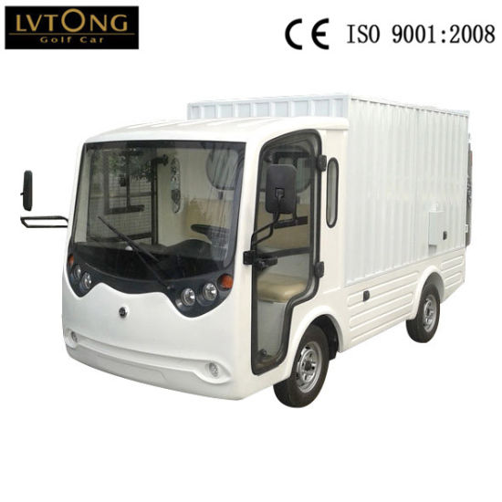 Factory 2 Seaters Electric Cargo Truck pictures & photos