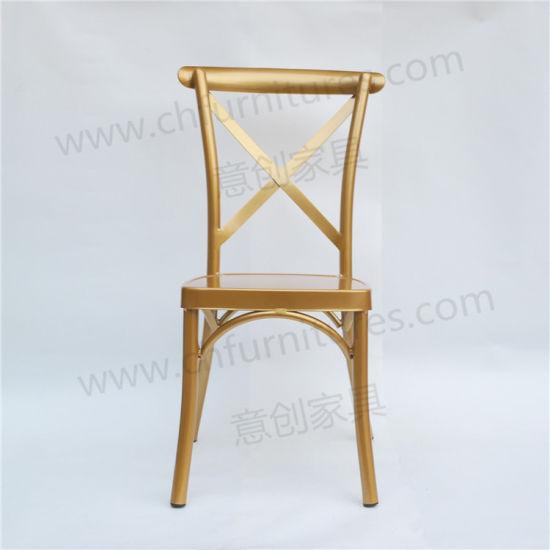 Aluminum Phoenix Chair for Wedding Rental Business Yc-B91