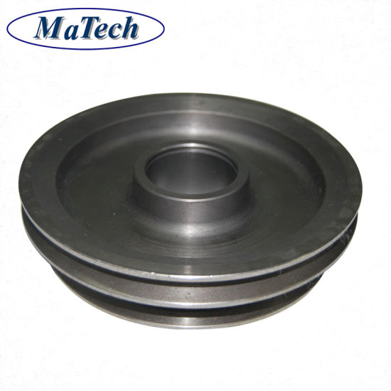 Metal Foundry Grey Cast Iron Ductile Sand Casting Pulley Wheel