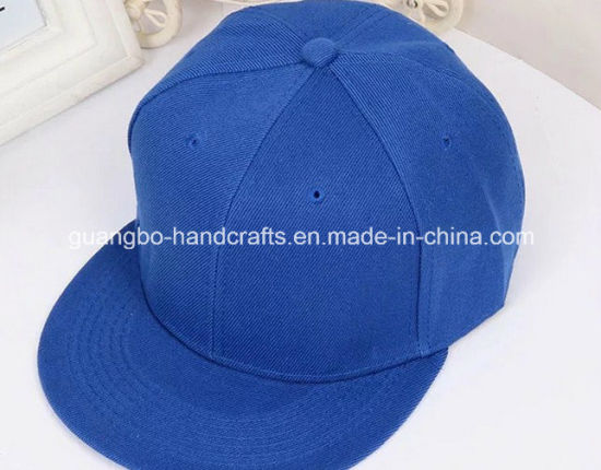 Top Quality Printed 6 Panel Blank Snapback Cap pictures & photos
