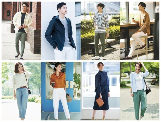 Japanese World-Famous Brand Stock Leisure Men and Women Clothes