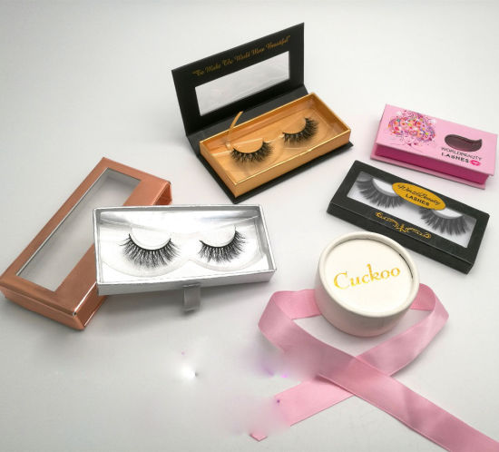 bae946ed99c Create Your Own Brand 3D Mink Eyelashes False Silk Synthetic Eye Lashes  Private Label Custom Packaging