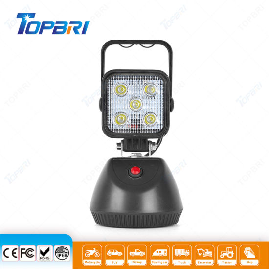 Emergency Strobe Beam Rechargeable LED Motorcycle Trailer Truck Camping Fishing Auto Car Driving Working Work Lights