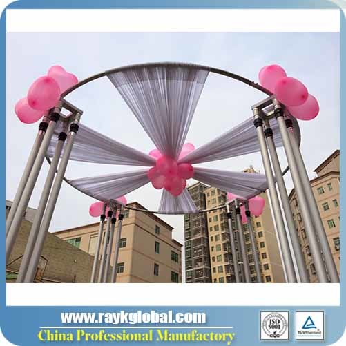 booth kits photo product detail innovative for systems and wedding drape telescopic pipe drapes