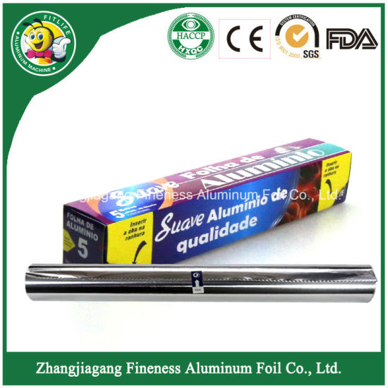 Fireproof Aluminum Household Foil for BBQ F205 pictures & photos