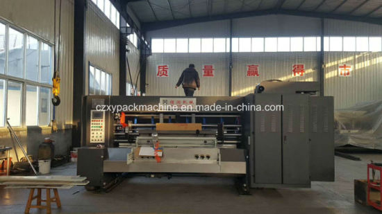 China Hot Sale 3 Colors Printing Press Die Cutting Machine Used for  Corrugated Cardboard