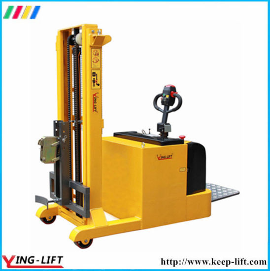 2400mm Lifting Height Powered Full Electric Drum Stacker Yl420b pictures & photos
