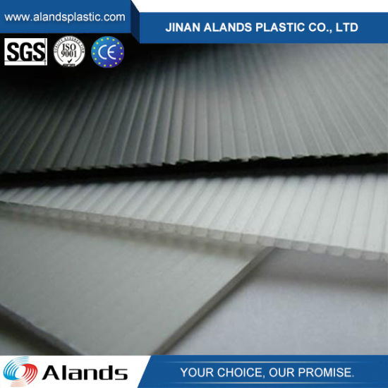 PP Hollow Corflute Sheet for Floor Protection pictures & photos