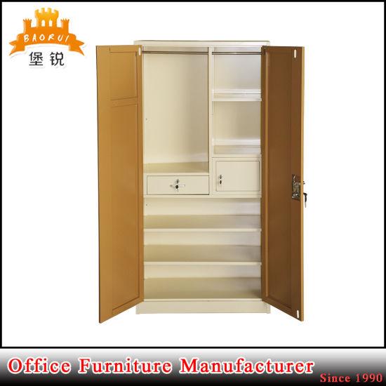 4a2338a1c64 Jas-071 Hot Sale 2 Door Metal Storage Cabinet   Different Colour Steel  Almirah pictures