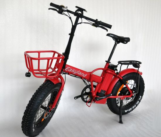 Folding Electric Bicycle with Fat 20 Inch Tire 500W48V Bafang Motor pictures & photos