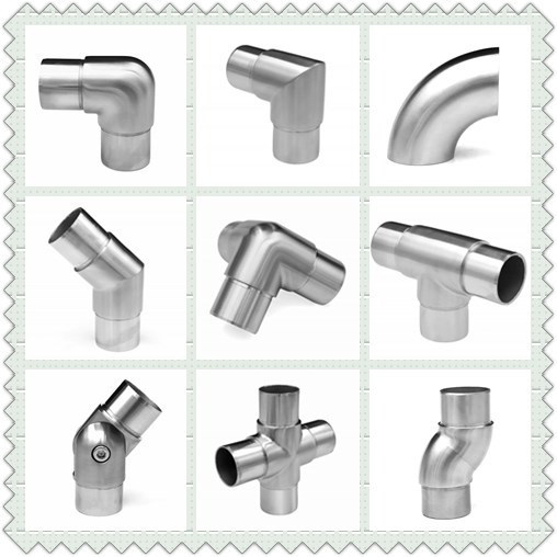 Square Zink Glass Clamps / Balustrade Fittings / Handrail Fittings / Zamak Glass Fitting pictures & photos