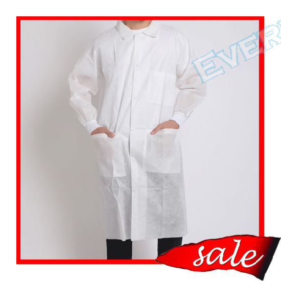 Long Sleeve Medical Lab Coat/Chemistry Lab Coats