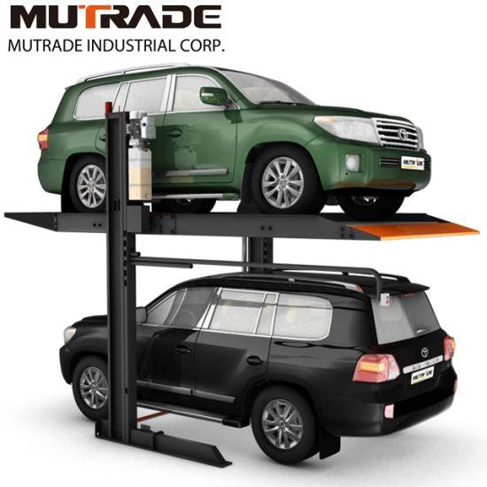 Portable Parking Garage >> 2300kg Portable Garage Two Post Hydraulic Parking Elevator