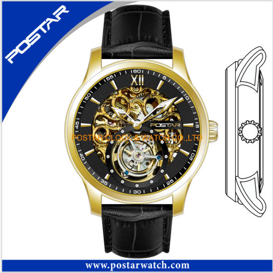 Factory Skeleton Automatic Watch with Top Grade Quality pictures & photos