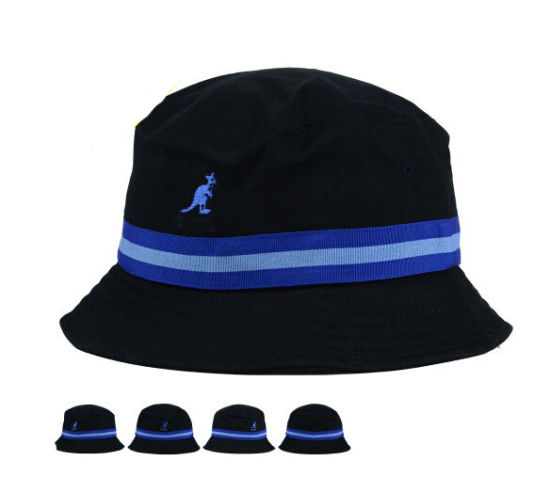 a59a527e9b7 Braid Middle Band Kid Size Baby Cotton Bucket Hat Cap with Emroidery Logo.  Get Latest Price