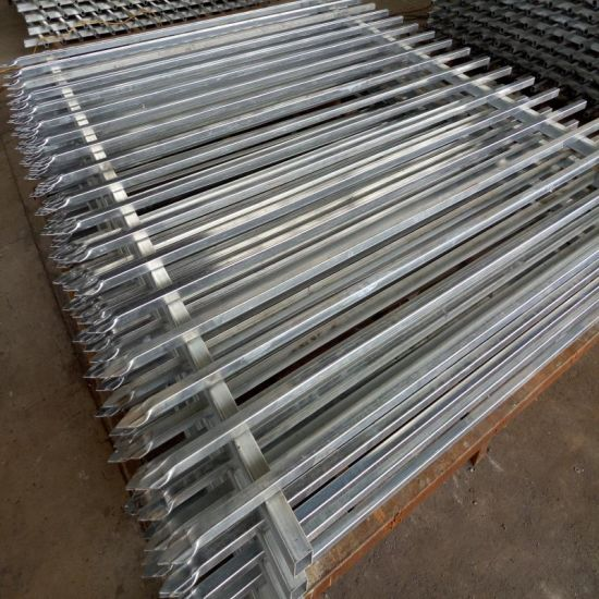 Cheap Wrought Iron Fence Panels for Sale / Galvanized Steel Fence / Ornamental Fence pictures & photos