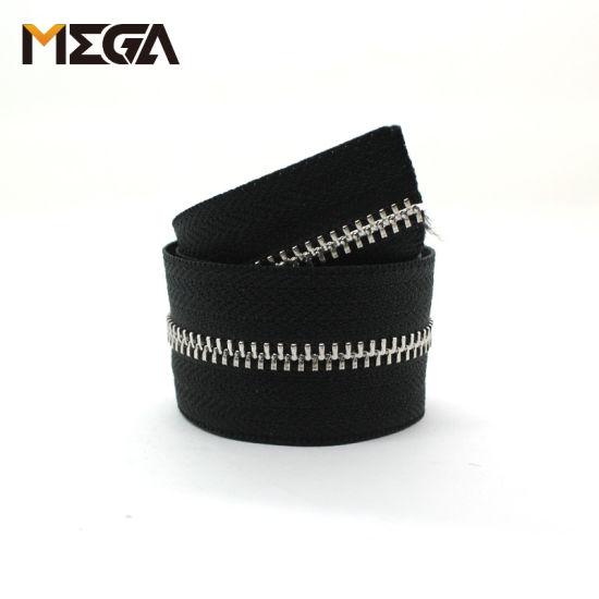 No. 3 Y Teeth Two-Way Wallet Metal Zipper