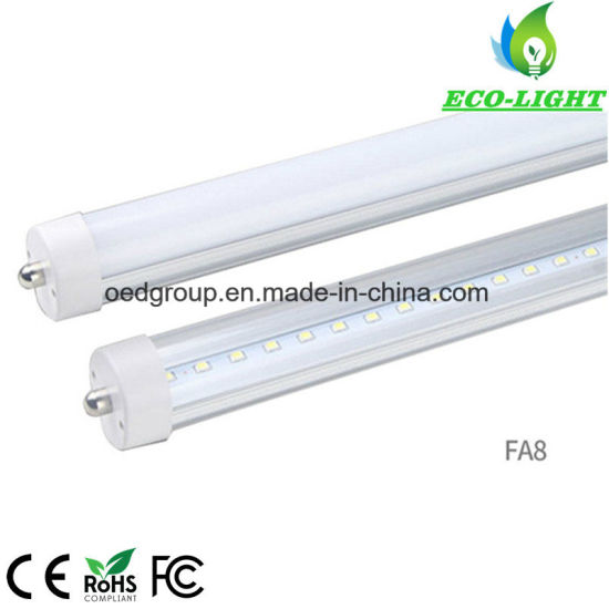 8FT 2400mm 240cm Aluminum Radiator and Clear or Frosted PC Cover Fa8 T8 LED  Tube