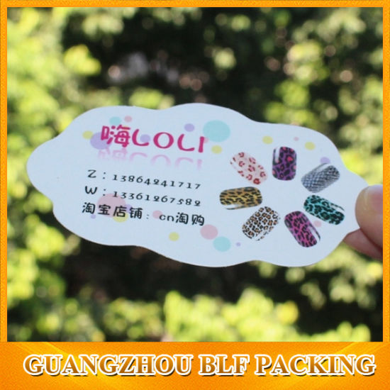 China custom shape paper business card printing china business custom shape paper business card printing reheart Images