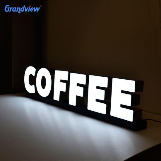Front Lit Signage Acrylic LED Luminous Standard Channel Letters