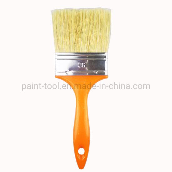 Factory Price Plastic Orange Handle Paint Brushes