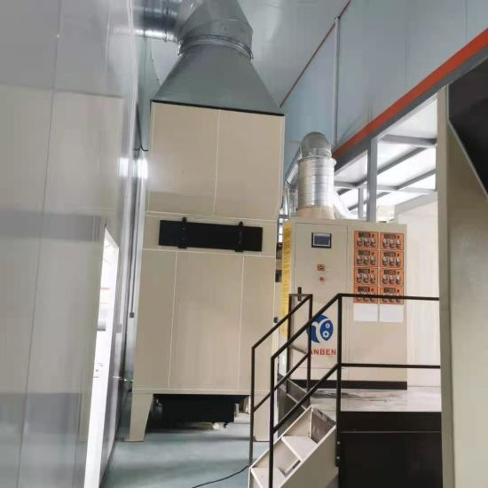 High Performance Automatic Powder Coating Spray Booth for Aluminum/Metal