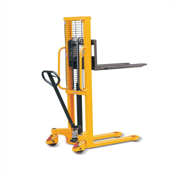 Hot Sale Small Manual Forklift/Hydraulic Hand Pallet Truck Stacker