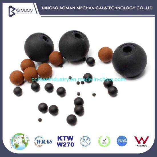 Sponge Rubber Seal Ball, Plastic/PVC Rubber Ball