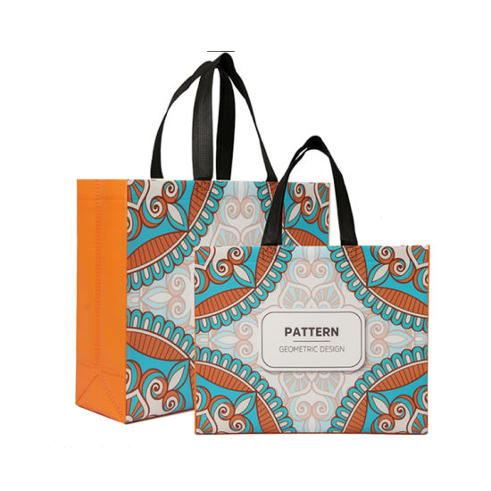 in Stock Factory Cheap Price Eco Friendly Fashion Design PP Laminated Tote Non Woven Shopping Bag