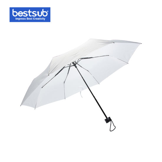 Bestsub Sublimation Gift Folding Umbrella Sun Umbrella (STUM21W)