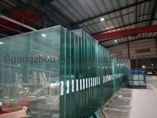 Laminated Glass Tempered Toughened Safety Building Glass for Windows Doors