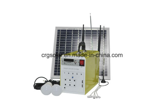 15W Pay Go Solar System Lighting Kit Home Use for Africa No Electricity Area pictures & photos