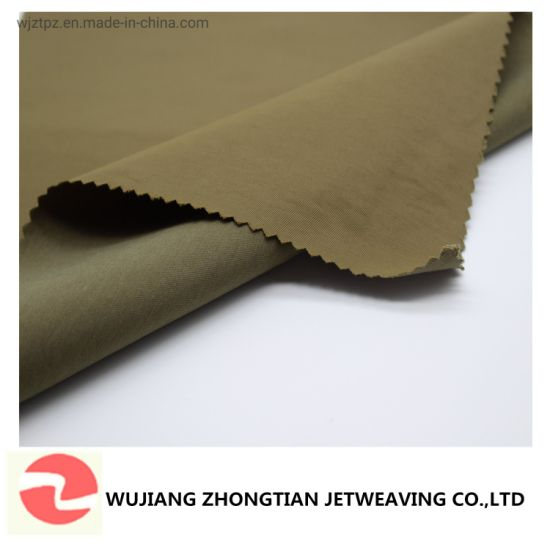 32s*140d 2/2 Twill Nylon Cotton Woven Fabric Water Proof for Outerwear