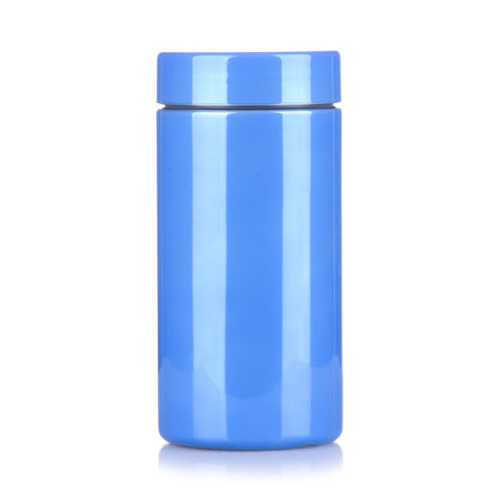 Chromed Packaging Cylinder Protein Powder Package