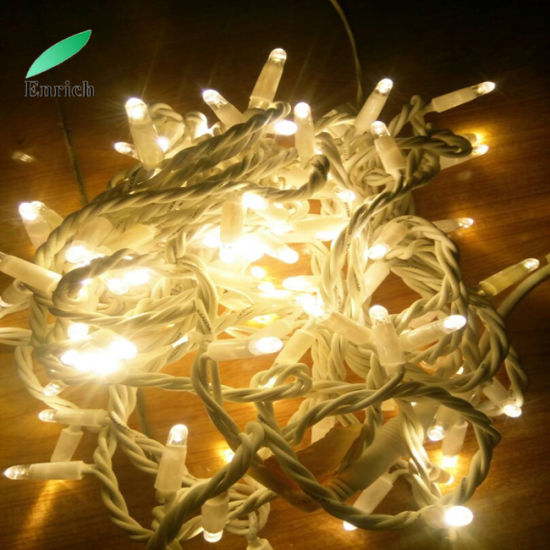 High Quality Rubber Cable LED Fairy String Light Connectable Twinkle Light String pictures & photos