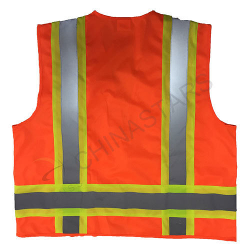 4XL Yellow Or Orange Personalised Printed High Visibility Hi Vis Safety Vest S