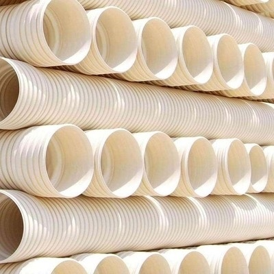 Sn4 Sn8 Dual Wall Corrugated PVC Drainage Production ID800 Bellow Tube