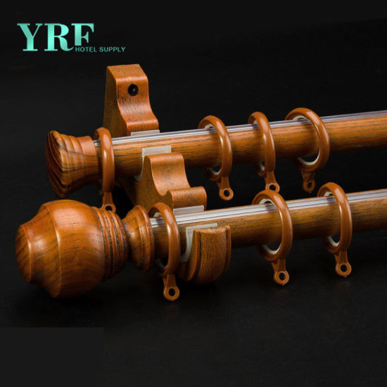 Factory Supply Aluminum Sheer Curtain Rods for Bedroom