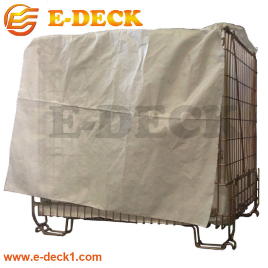Factory Price High Quality Heavy Duty Large Size Stackable Wire Baskert Storage Containers pictures & photos